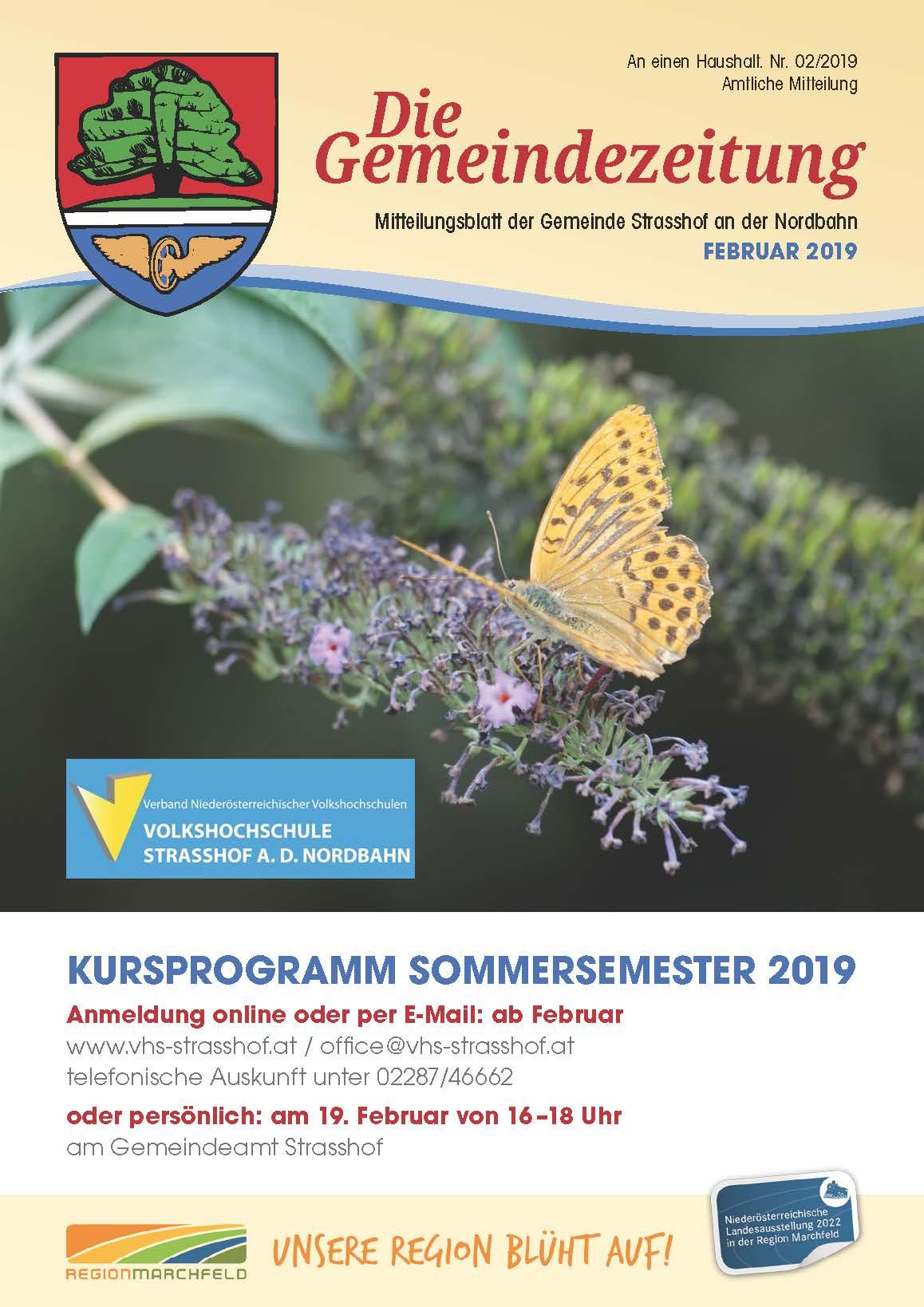 Das neue Kursprogramm Sommersemester 2019 ist da!